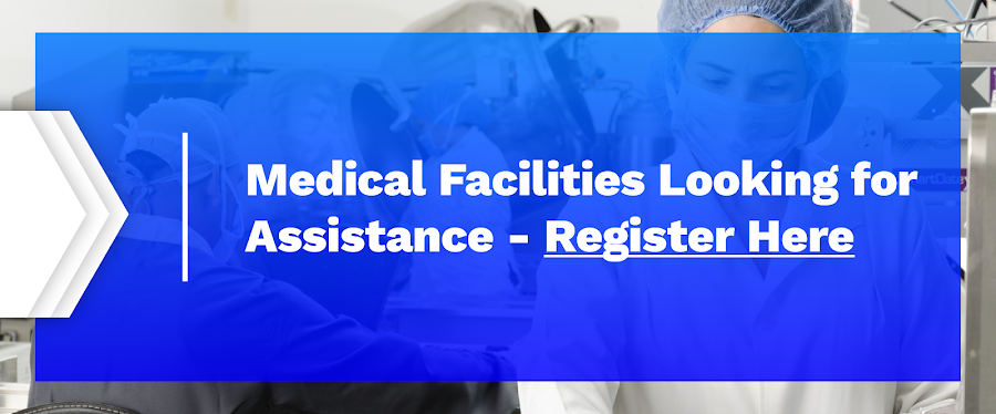 Healthcare professionals can register here to receive 3D printed medical equipment.