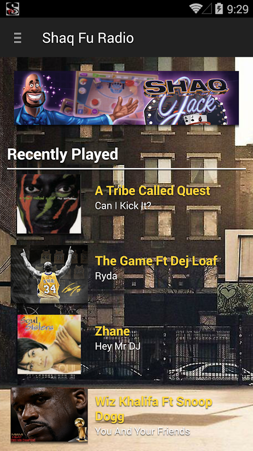 Shaq Fu Radio- screenshot