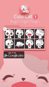 White Cat-Magic Finger Plugin screenshot 3