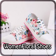 Women Floral Shoes