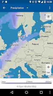 Transparent clock & weather Screenshot 5