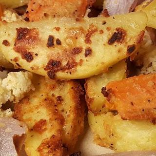 Oven Fresh Seasoned Potato Wedges.