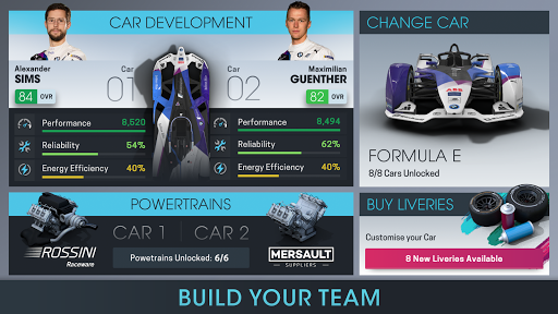 Motorsport Manager Online modavailable screenshots 2