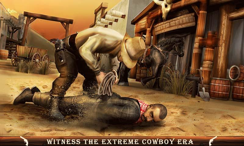 Western Cowboy Gang Shooting 3D: Wild West Sheriff- screenshot