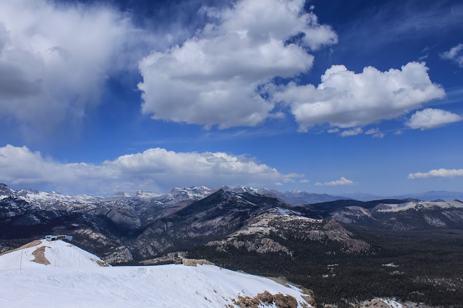 Sierra nevada by Tracey Dolan - Landscapes Cloud Formations