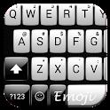 Gloss White Emoji Tastatur icon