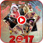 New Year Movie Maker Icon