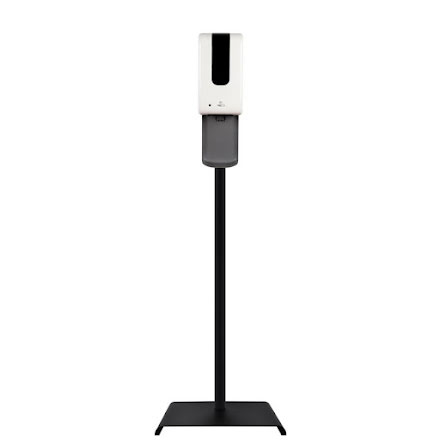 Berøringsfri dispenser komplett med gulvstativ og dryppskål