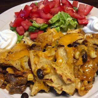 Skillet Steak Enchiladas.