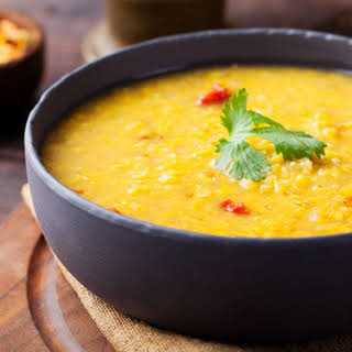 Spicy Indian Dal (lentils).