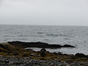 Photo: A stormy day on Lynn Canal south of Point Sherman.