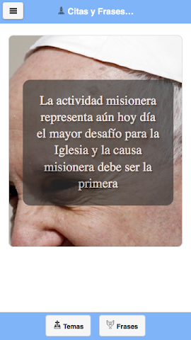 android Frases del Papa Francisco Screenshot 6