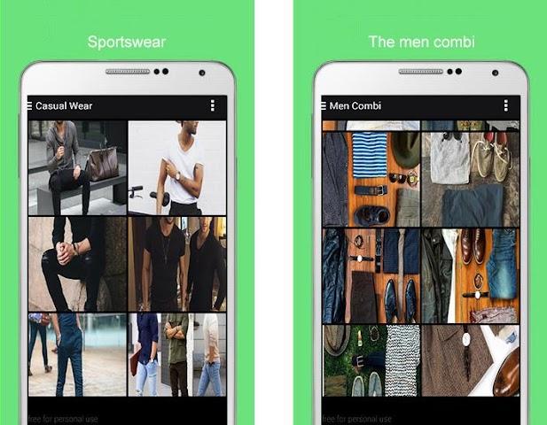 android Men Fashion 2016 Screenshot 5