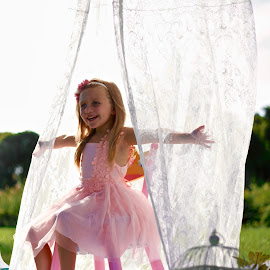 Princes by Colin Four - Babies & Children Children Candids ( white, curtain, child )