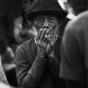 Witnesser by Maverick De Castro - Black & White Street & Candid ( black and white, still life, candid, people )