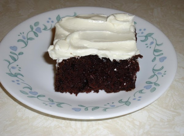 Ebony Chocolate Cake W/ Jeannie's Frosting ~ Better Than The Best! Recipe