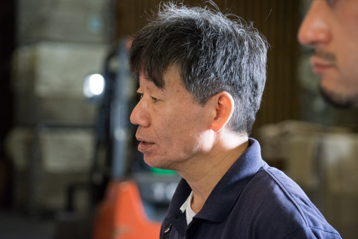 パティシエの永島定男さん(洋菓子部門開発部長)