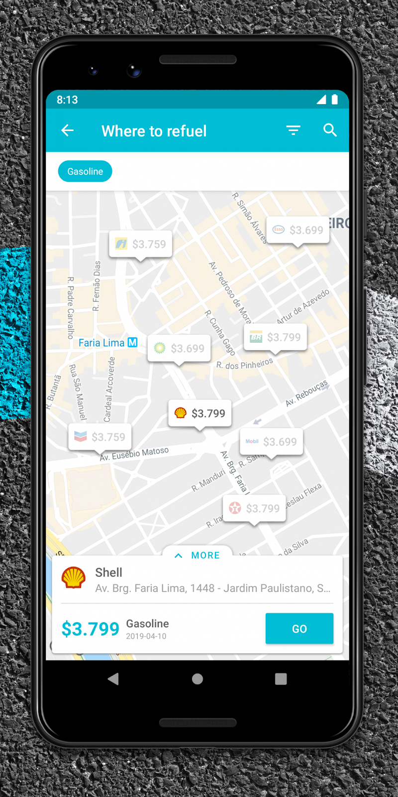 Drivvo – Car management, Fuel log, Find Cheap Gas Screenshot 1