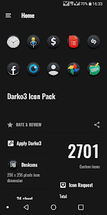 Darko 3 - Icon Pack Screenshot