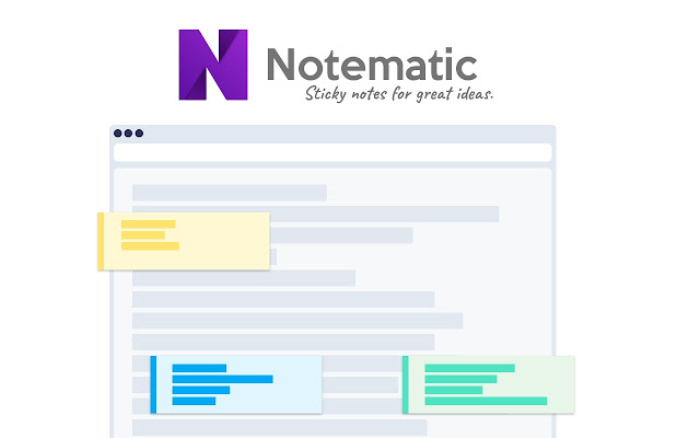 Notematic - Sticky notes for great ideas