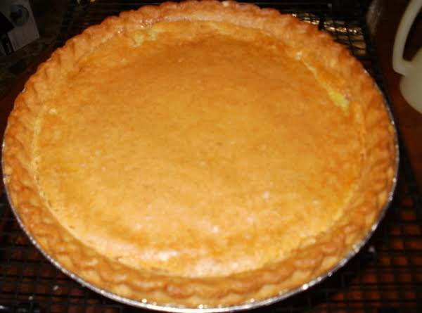 Vanilla Chess Pie