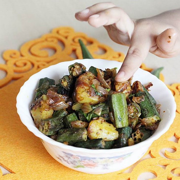 Bhindi Masala Recipe – Easy North Indian Vegetable Side Dish Recipe