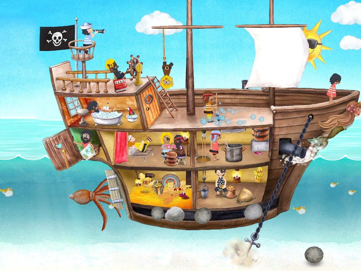 Tiny Pirates Seek & Find Kids- screenshot