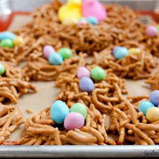 Butterscotch Cookie Butter Bird Nests