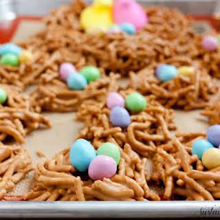 Butterscotch Cookie Butter Bird Nests.