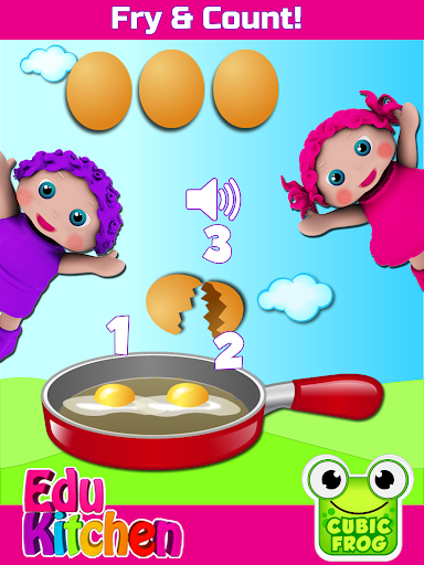 Toddler Kitchen Food Cooking Games-EduKitchen Girl 7.24 screenshots 6