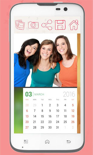 無料摄影Appのカレンダー2016フォトフレーム|記事Game