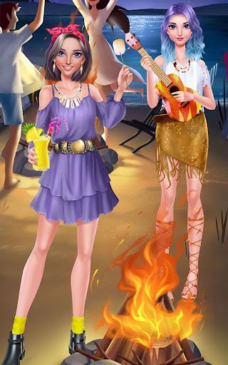 玩免費休閒APP|下載Girls Beach Party Night Salon app不用錢|硬是要APP