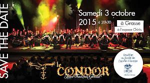 Concert Le Condor 2015 au profit de L'Arche à Grasse