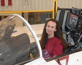 Photo: F/A-18 cockpit... not very roomy!