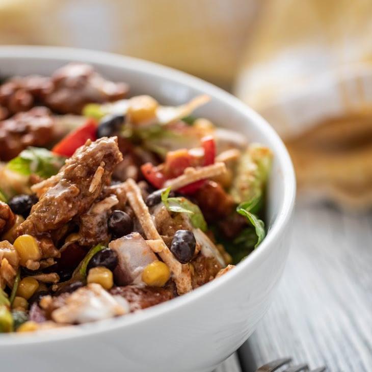 BBQ Seitan Salad Recipe
