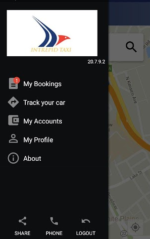 android Intrepid Taxi Screenshot 1
