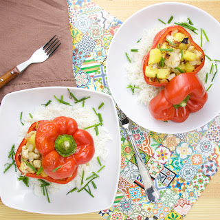 Pineapple Stuffed Peppers Recipes