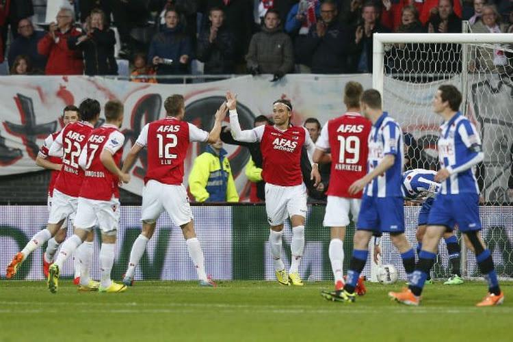 L'AZ fait un grand pas vers la finale des playoffs de l'Europa League
