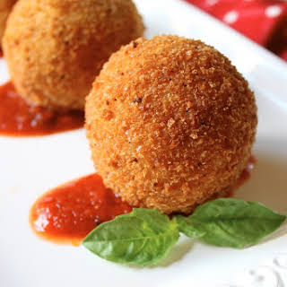 Sicilian Rice Balls.