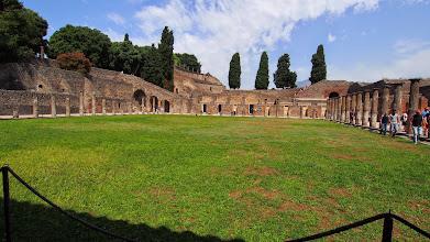 Photo: Gladiator training/ housing