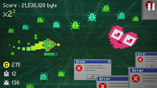Code Triche Cursor The Virus Hunter 3D APK MOD screenshots 3