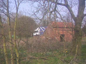 Photo: The old barn currently for sale, off Jubilee Way being passed by a truck.
