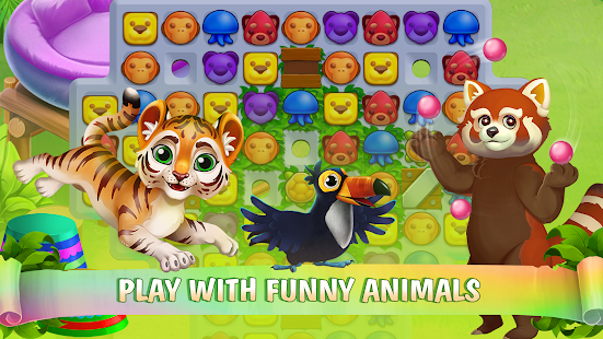 ApkMod1.Com Zoo Island + (Hearts/gold coins/stars) for Android Casual Game