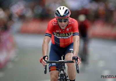 Giro-favoriet Primoz Roglic krijgt een sneer van Vincenzo Nibali na afloop van eerste bergrit