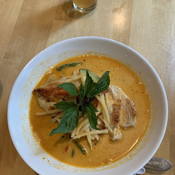 Gluten Free Red Curry Ramen