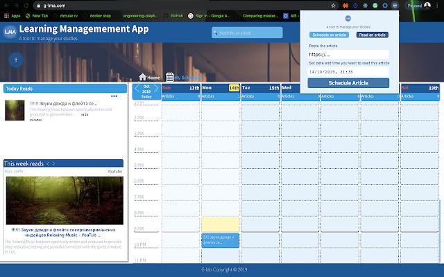 Learning Management App