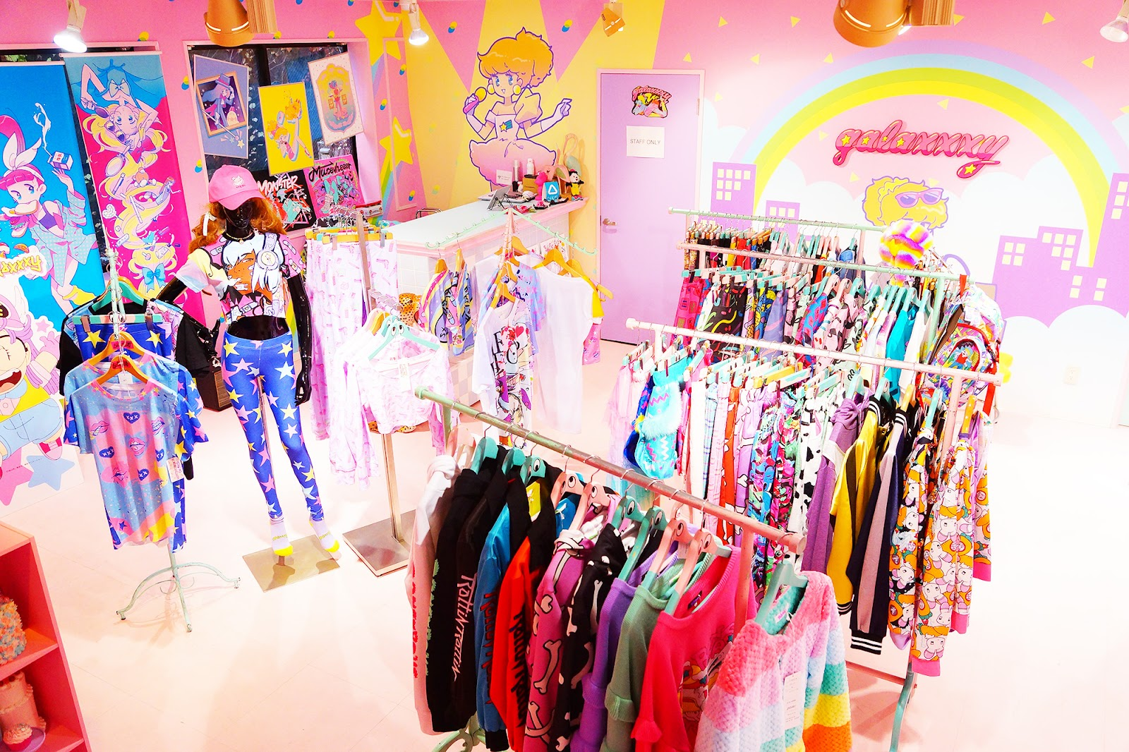 Ultra-bright and In Your Face: galaxxxy is the Ultimate Harajuku Clothing Store