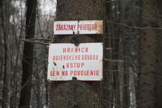 Photo: Kráčam okrajom vojenského obvodu Záhorie