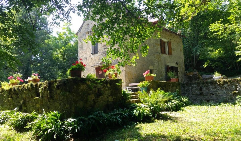 Maison avec jardin et terrasse Vailhourles