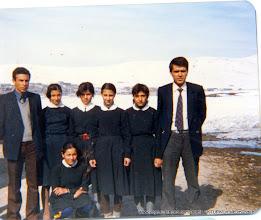 Photo: Yılmaz Hoca, Sabiha, Aysun, Nihal, Nuran, İsrafil hoca Sebahat